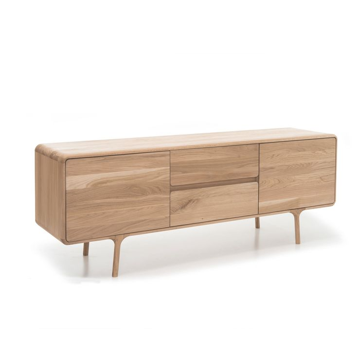 Our exclusively designed Morten range combines modern contemporary with a minimalist Scandinavian feel. The whitewash finished oak lends itself to a style that will fit any modern living environment. The Morten Sideboard features beautifully detailed elliptical handles and raised lip around the top edge acting both as a beautiful design feature and practical addition that will keep your items from falling off the side. The Sideboard can also be used as an AV unit due to there being the…