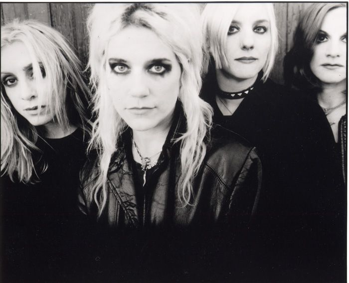 L7 - This bunch is my fave , seriously riot grrl action during the 90's , making history as the crustiest and bitchiest female band ever