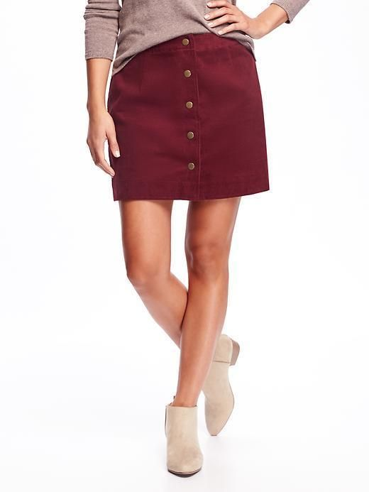 CORDUROY MINI SKIRT FOR WOMEN   Old Navy, fashion, clothing, clothes, style, fall fashion