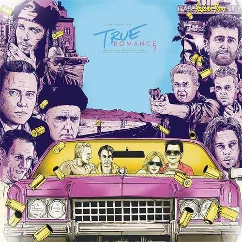 True Romance - Soundtrack Limited Edition Colored Vinyl LP July 7 2017 Pre-order