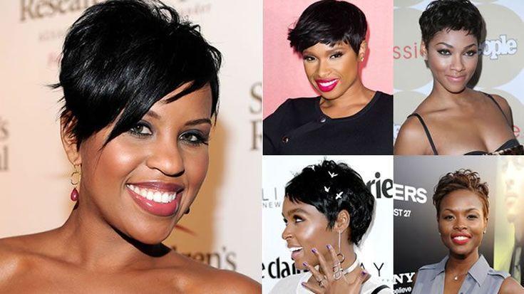 Feminine Pixie Frisuren für schwarze Damen 2018-2019 Afro American Short Hair – … – frisuren männer geheimratsecken