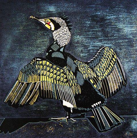 CathyKingPrints - Cormorant
