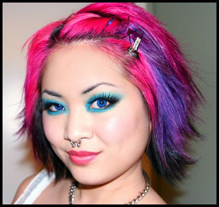 multi color hair styles 95 best images about multi colored hair on 1562 | 3127b54d02567e35a1afaa433b60b416