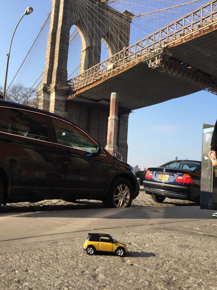 #SchompMINIadventures | MINI in New York City | MINI in Manhattan | MINI in Brooklyn| Dumbo | Places to Visit in New York City | MINI cooper | Denver | The Mile High City | mini usa | miniac | mini love| enjoy mini | not normal | Colorado | Yellow Mini Cooper | Brooklyn Bridge| New York City Skyline | Schomp MINI | an original @Schomp MINI pin