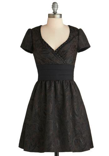Don't Rain on My Brocade Dress, #ModCloth