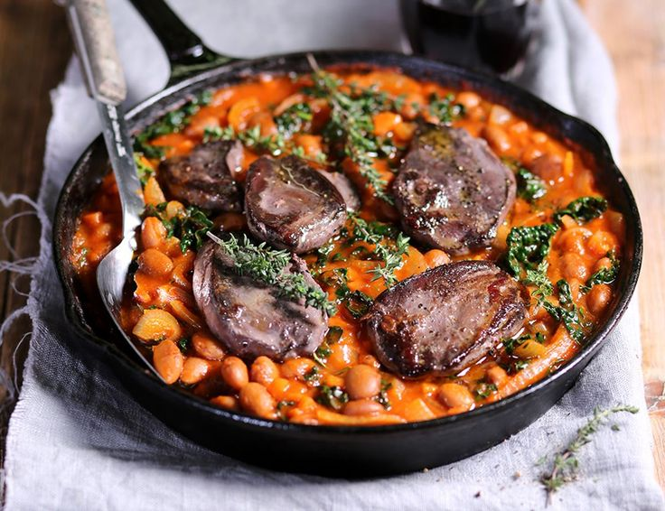 Tuscan Pigeon & Borlotti Bean Stew Recipe | Abel & Cole
