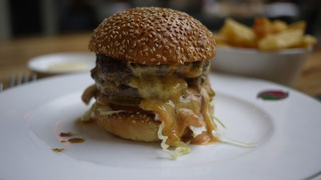 The Double Stack Burger...