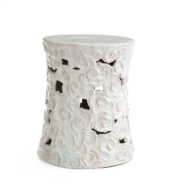 wisteria ceramic cumulus stool look 4 less