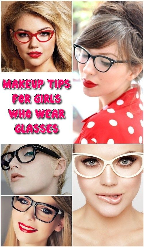 Makeup Tips for Girls Who Wear Glasses Eyebrow Makeup Tips