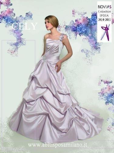 Abiti da sposa colorati dal rosa antico al rosso blu e lilla a voi la scelta!