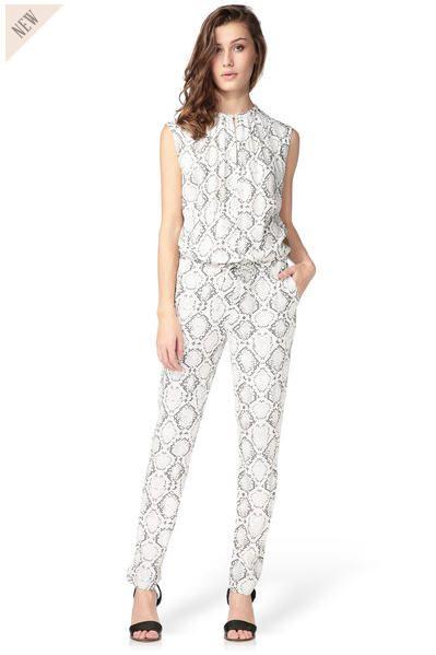 Combi-pantalon sans manche Boa Ecru Stella Forest prix Combi-Short Monshowroom 215,00 €