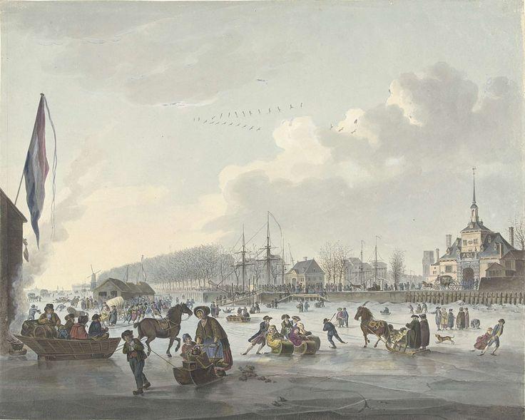 IJsvermaak voor Rotterdam, ca. 1784, anoniem, 1780 - 1790
