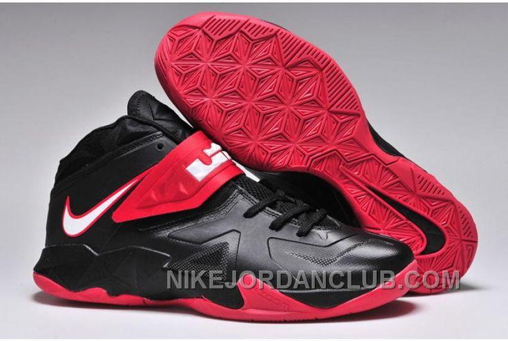 http://www.nikejordanclub.com/180159225-nike-lebron-7-vii-soldier-black-red-running-shoes.html 180-159225 NIKE LEBRON 7 VII SOLDIER BLACK RED RUNNING SHOES Only $83.00 , Free Shipping!