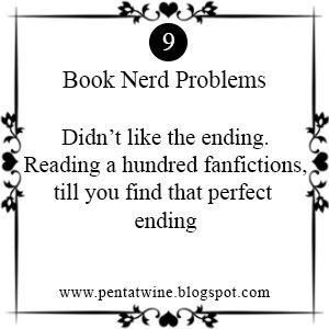 Pentatwine: Book Nerd Problems #9