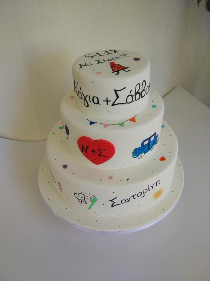 Wedding cake - Cake by nef_cake_deco