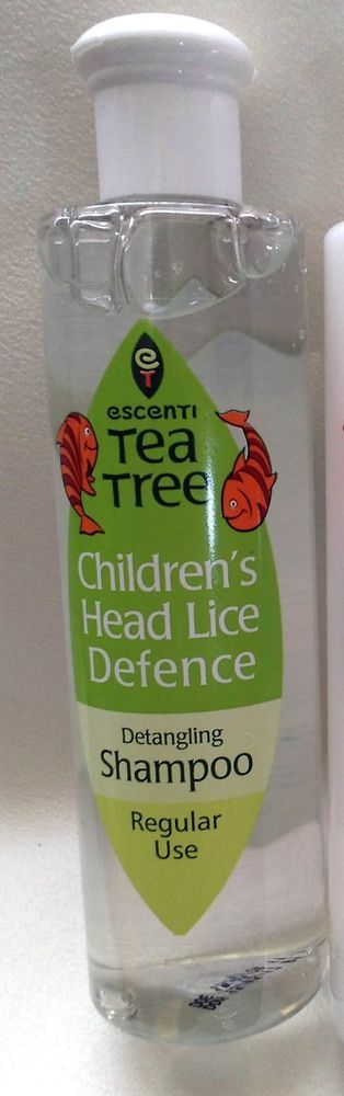 Hair LICE NITS DEFENCE Shampoo ESCENTI Tea Tree Children's 300ml Regular use