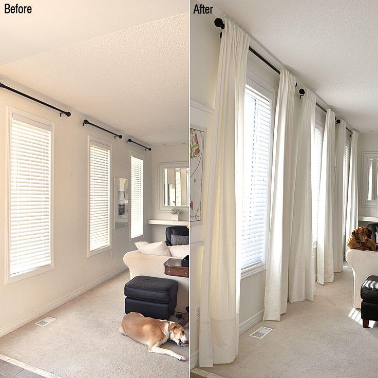 Ikea Extra Long Ritva Curtains