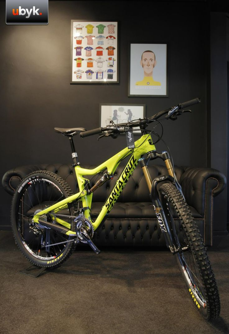 OXFORD, UK: UBYK. Top of the range bikes tailored to your spec; race or mountain bikes, by a forward thinking team of cycle enthusiasts