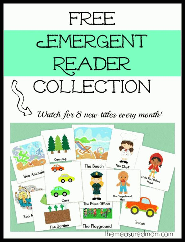 free emergent reader collection the measured mom 590x770 Free Emergent Readers