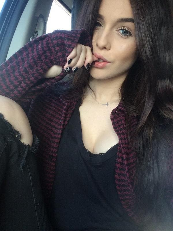 Beautiful brunette teens tumblr