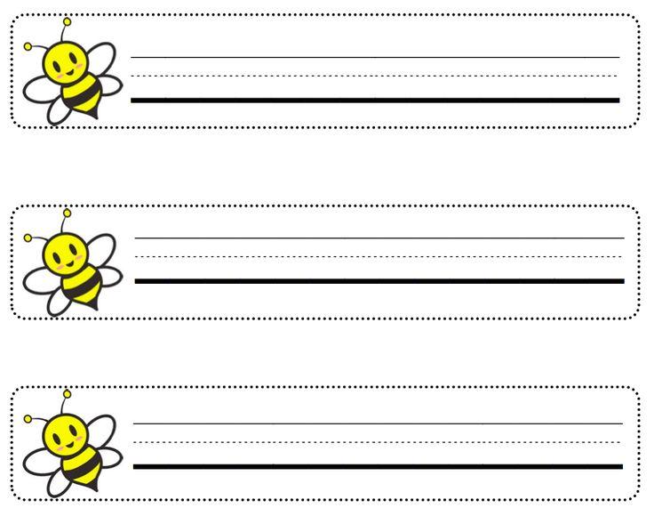 Luscious image for printable name tags for desks