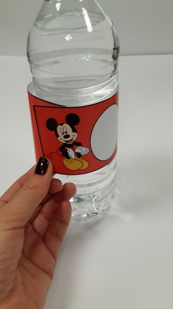 Free printable / Mickey Mouse themed birthday party
