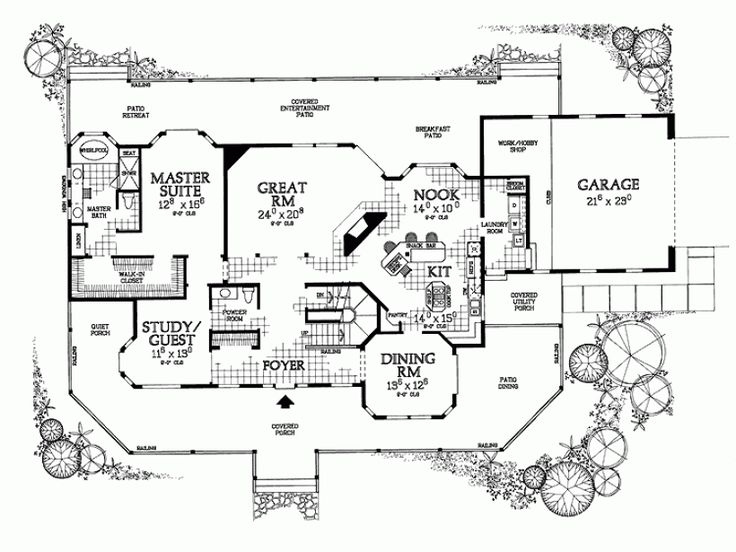 646 best house plans images on pinterest | country house plans