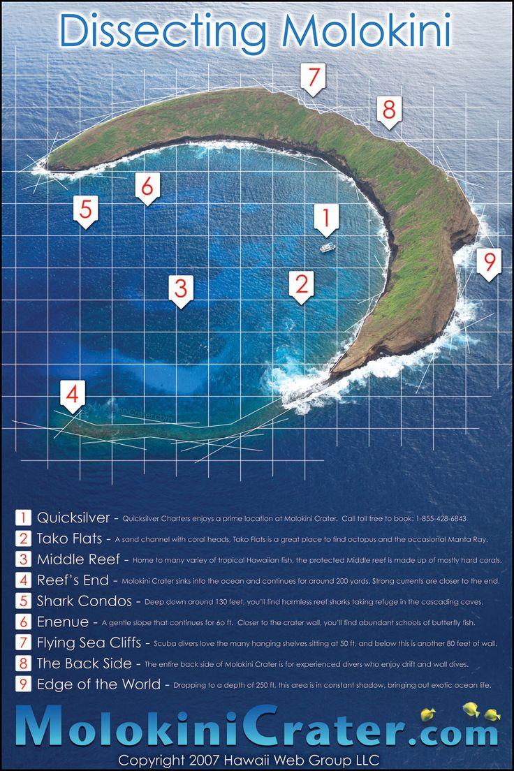 Molokini - I went scuba diving at spot #6! Beautiful & memorable!