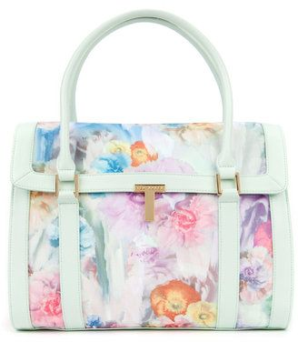 NEW IN @Ted Lee Baker - Sweet Pea TAHARA Sugar sweetpea tote bag #shopstyleuk #pastel #trends