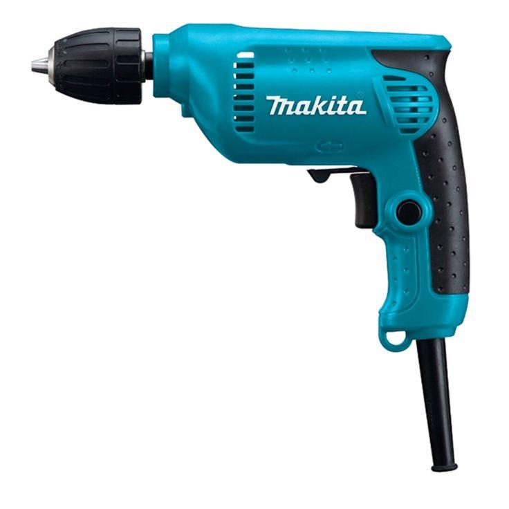 Makita 6413 taladro 450 W, portabrocas automático 10 mm 0 - 3400 rpm