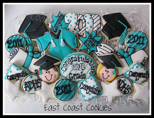 Graduation cookies 2011