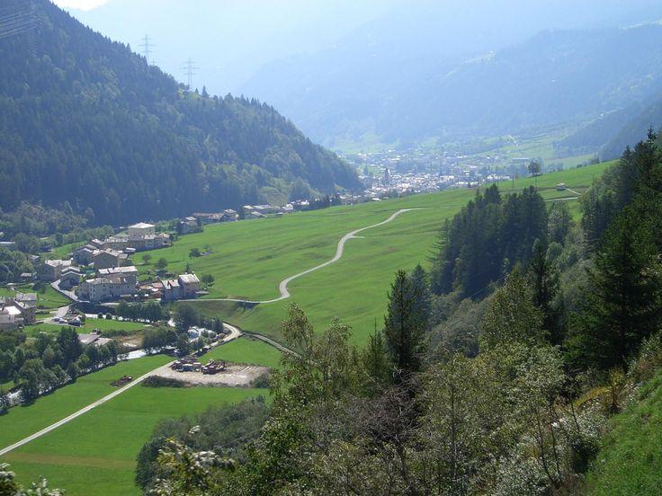 Pontresina mit Landeplatz