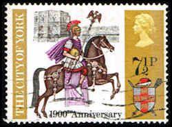 Roman Centurion Stamp -  Horse - Great Britain #655 Stamp - EU GB 655-1 USED