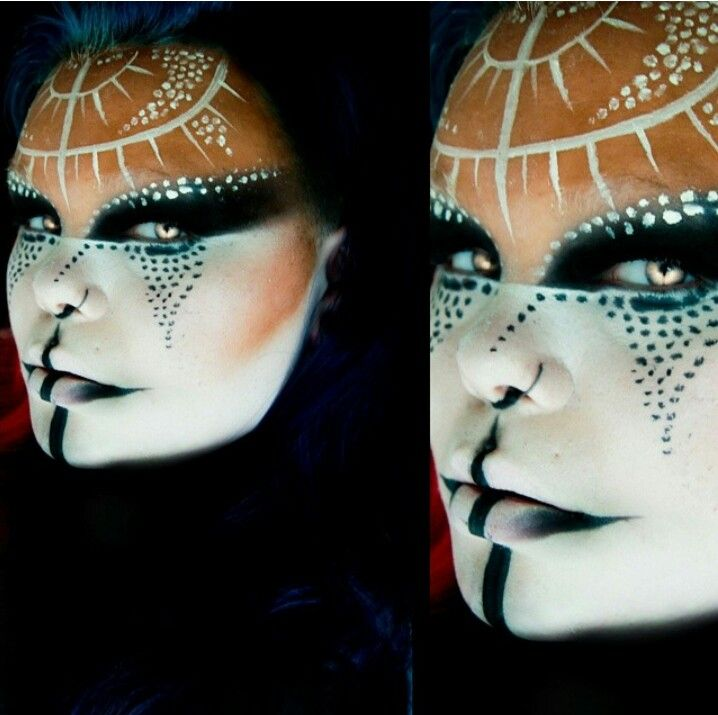 Theater makeup special effects makeup