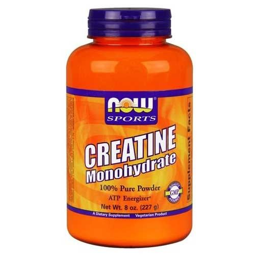 Now Foods Creatine Powder 8 Oz - Creatine - Performance, Muscle Building & Recovery - Sports Nutrition & More