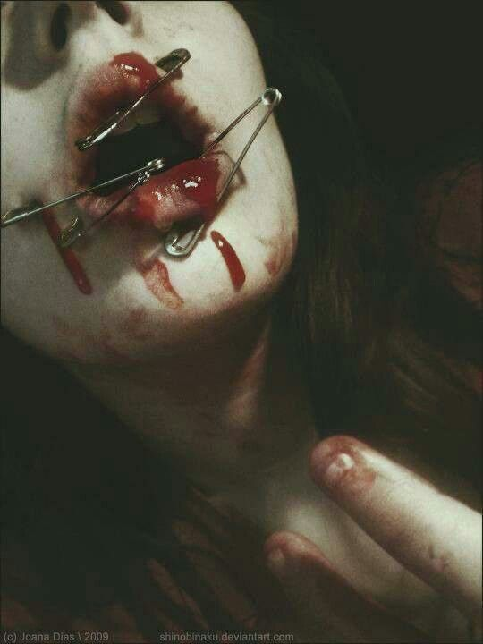 blood and lips ;)