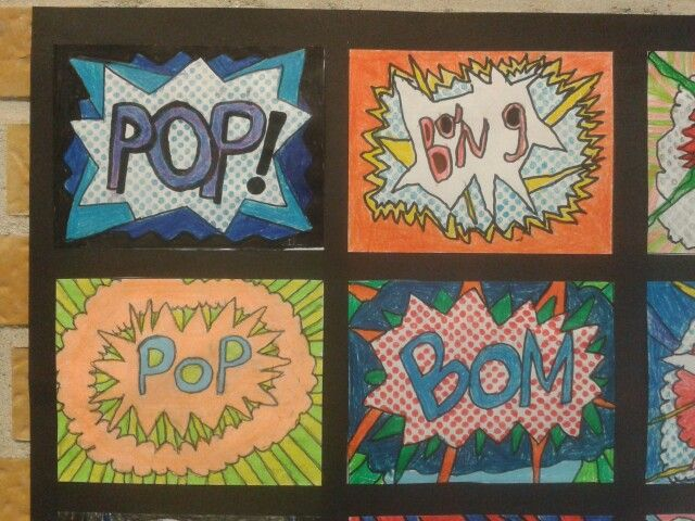 Pop art close up 2. kl