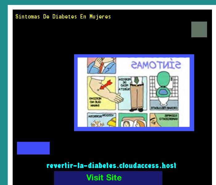 Sintomas De Diabetes En Mujeres 190801 - Aprenda como vencer la diabetes y recuperar su salud.