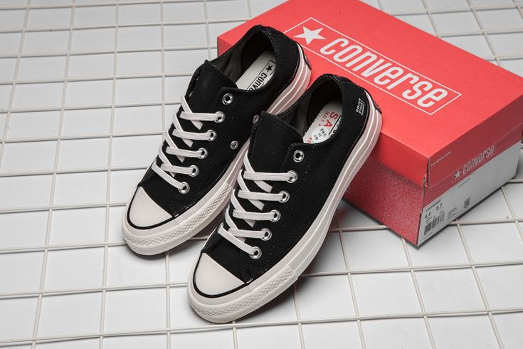 DSMNY x Converse 1970S CDG Black Chuck Taylor All Star #converse #shoes