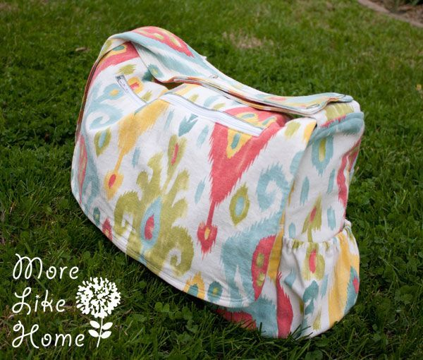 Ok, peeps. Get ready. We're about to make the sweetest, most versatile, storage-packed diaper bag in all of time and space. And the best par...