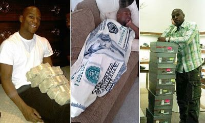 BILLIONAIRE GAMBLER™: Floyd Mayweather $123 MILLION bank account