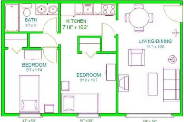 Nice Inspiration Ideas House Plans Under 650 Square Feet 13 Indian Plan For Sqft On Modern Decor How To Plan House Plans House Floor Plans