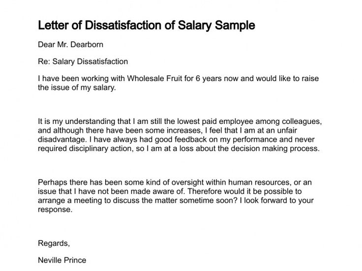 How To Write A Letter Of Displeasure - Opinion of professionals