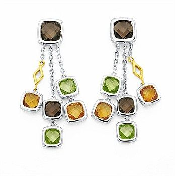 This is one additional beautiful colorful gem stone earrings - Parris Jewelers #gemstoneearrings