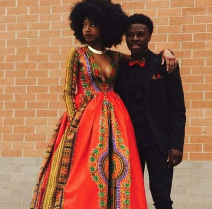 Prom Queen Breaks The Internet With Her Own Angelina Print Dress; Kyemah McEntyre Goes Viral | FashionGHANA.com: 100% African Fashion
