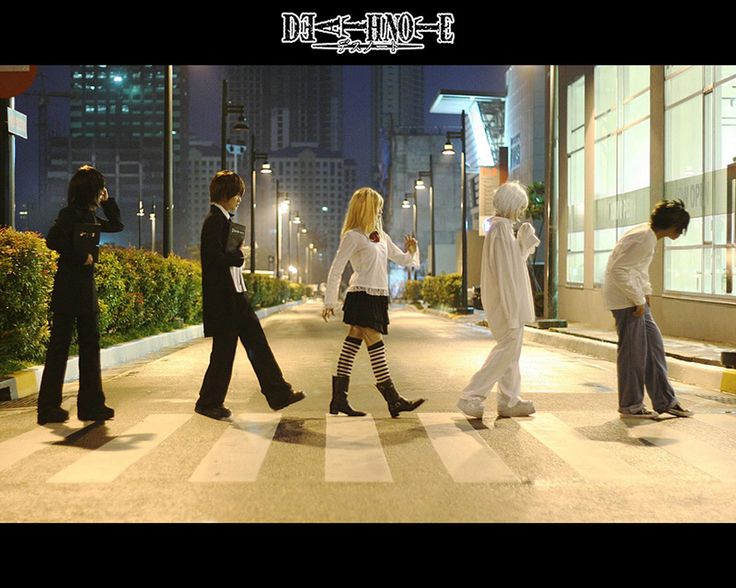 cosplay death note   Download the Death Note anime wallpaper titled: 'Death Note Cosplay'.