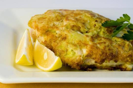 Chicken Cutlets with Dijon mustard