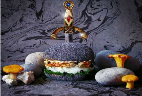 Burgers-καλλιτεχνήματα! Δείτε τις απίστευτες δημιουργίες μίας ομάδας από γραφίστες! (PHOTOS)