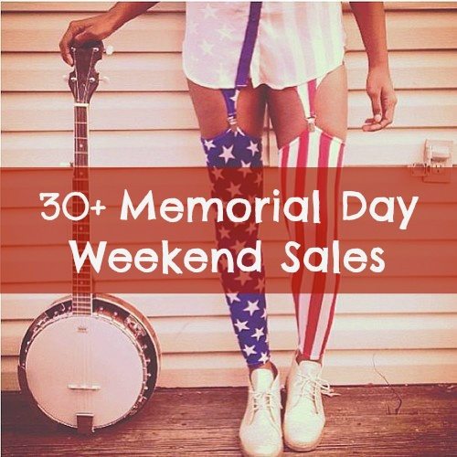 30+ Memorial Day Weekend Sales- Stock up on new summer wear from 30 of the best memorial day sales.