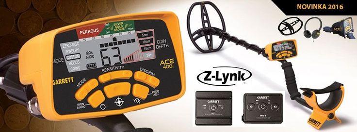 Detektor kovů ACE 400i včetně Z-LYNK a příslušenství - Detektor kovů Garrett ACE 400i je novinka na trhu, která stejně jako ostatní detektory značky Garrett, nabízí široký výběr funkcí. Tento model detektoru kovu vznikl vývojem modelu Euro ACE a nyní je m...